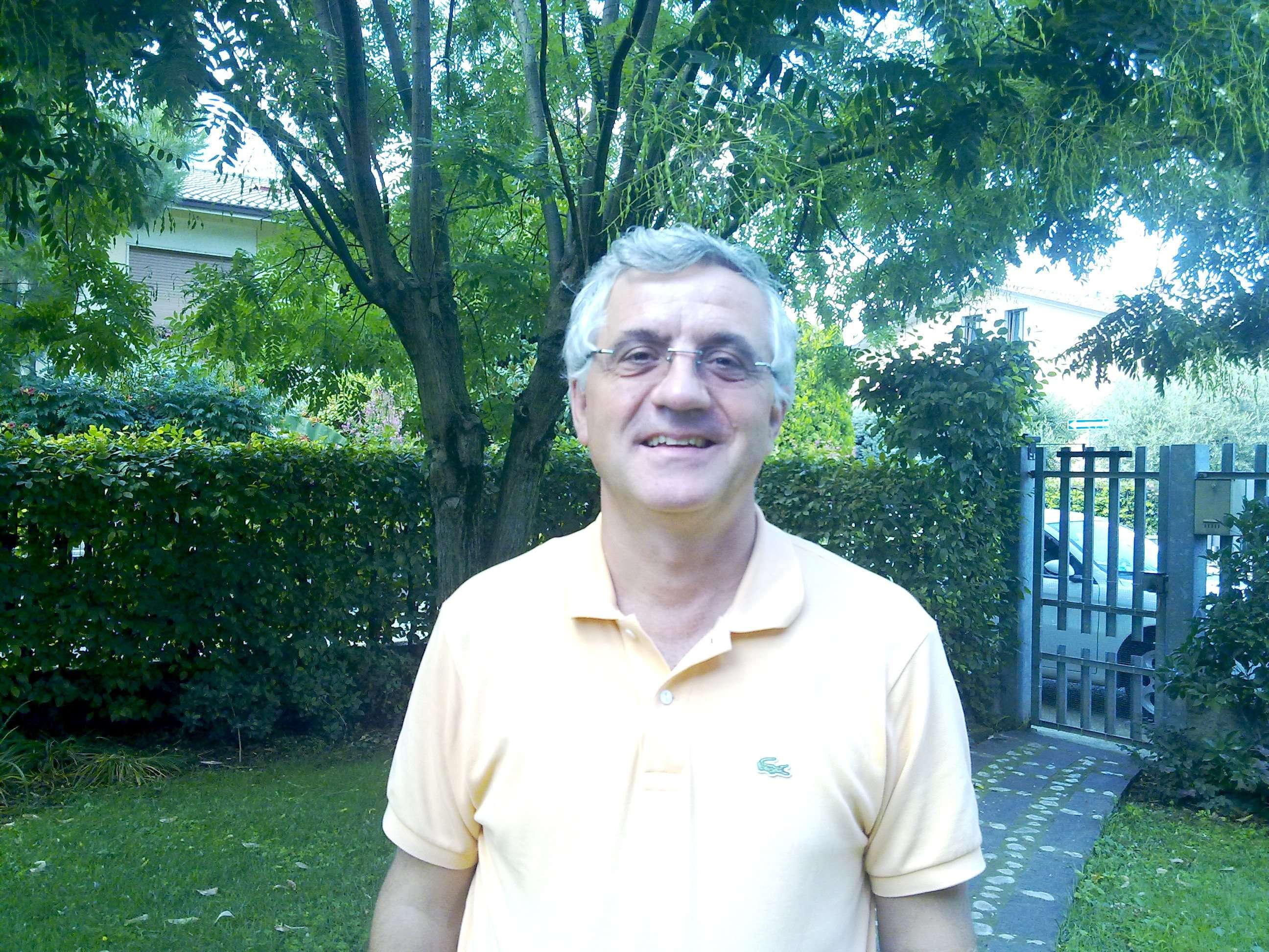 Il Presidente dell'AC Lugagnano Giovanni Forlin