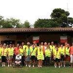 2013 08 07 Palazzolo 10000 passi il gruppo alla Baita Alpina 3