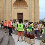 2013 08 07 Palazzolo 10000 passi il gruppo davanti alla chiesa