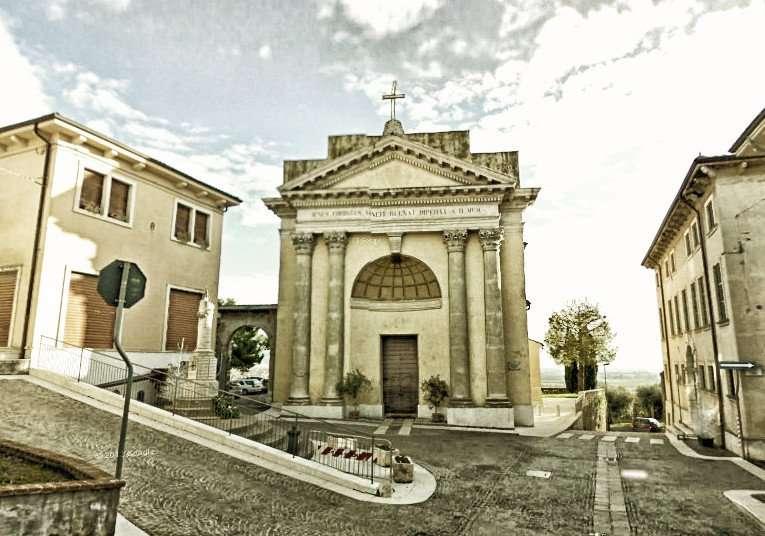 Centro Palazzolo con chiesa
