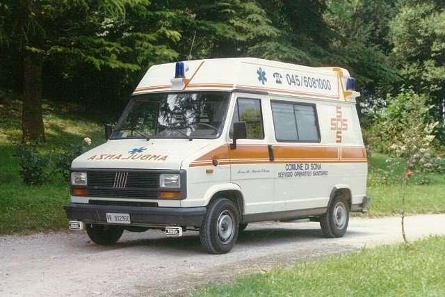 foto della ambulanza numero 1 da cui tutto è partito