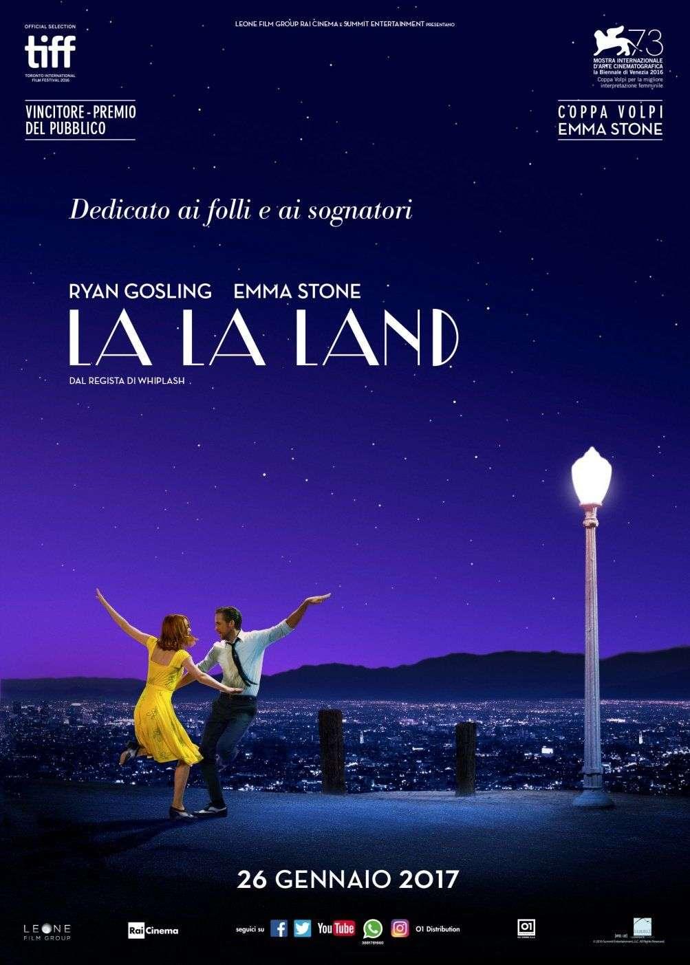 La La Land - Locandina