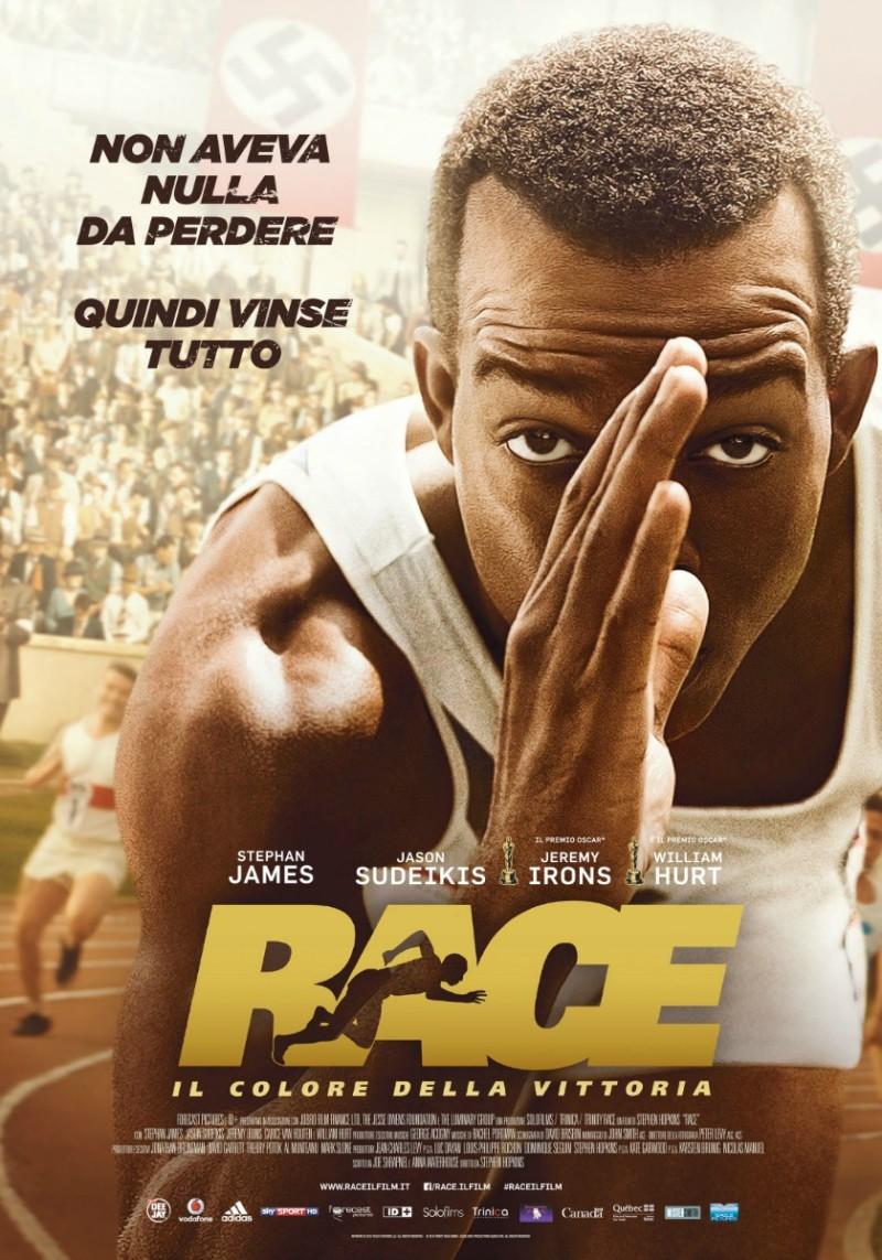 Race - Il colore della vittoria locandina